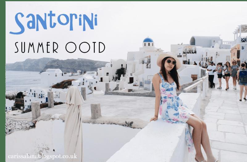 Santorini Summer OOTD