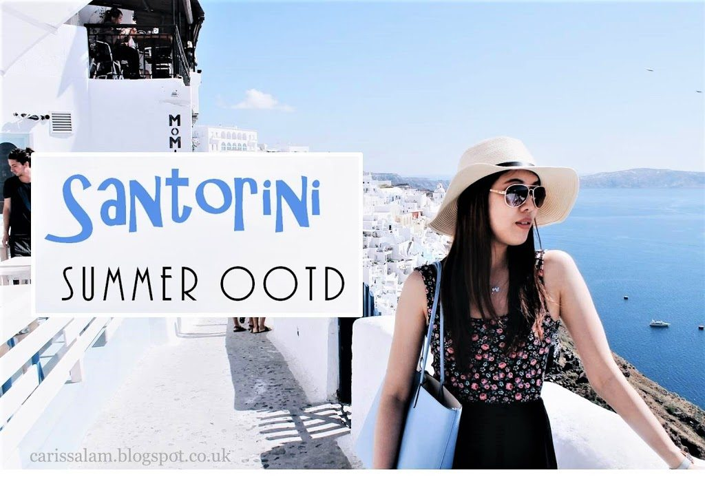 Santorini Summer OOTD #2