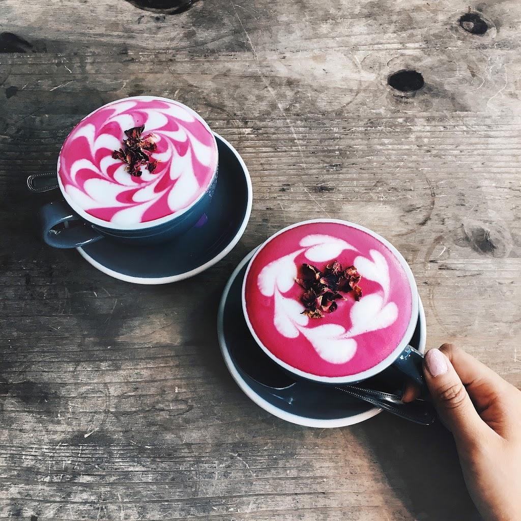 Rose Latte – AIDA Shoreditch