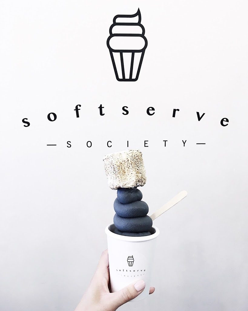 Charcoal Ice Cream – Soft Serve Society
