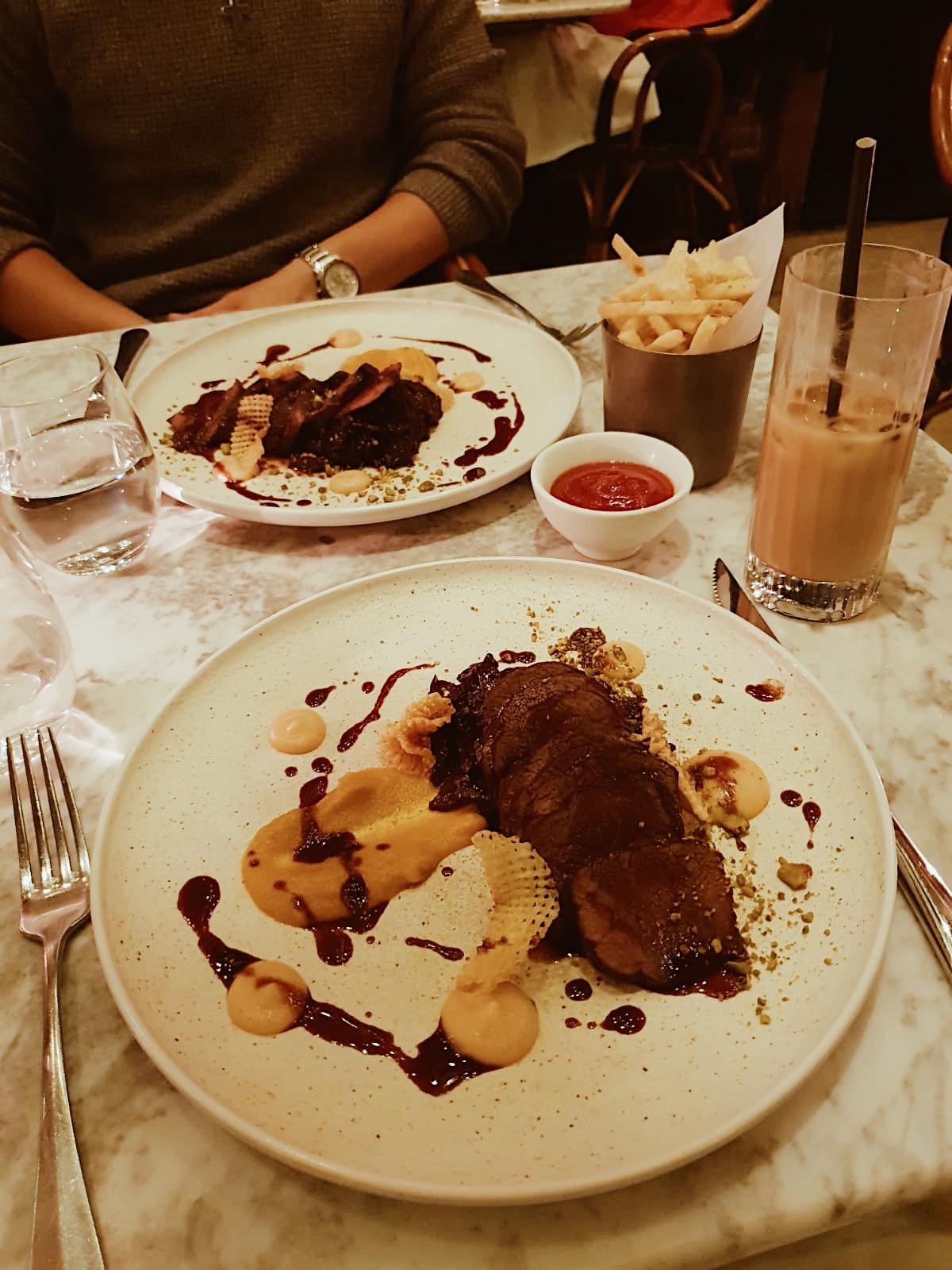 dalloway terrace food london
